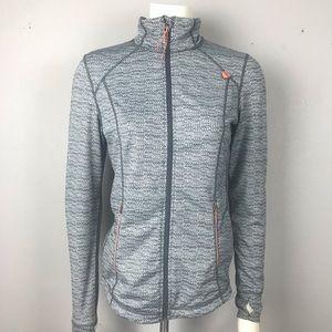 Tangerine Full Zip Work Out Jacket S